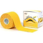 Nasara Tape Κινησιοθεραπείας 5cm x 5m Κίτρινο
