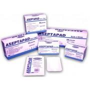 Επιθέματα αυτοκόλλητα ASEPTAPAD (non woven) 9cm x 5cm