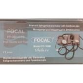 Πιεσόμετρο χειροκίνητο με ενσωματωμένο στηθοσκόπιο Focal Model FC-101
