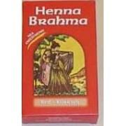 """HENNA ΚΟΚΚΙΝΗ """"BRAHMA"""" Βαφή μαλλιών 80GR"""